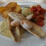 Zanderfilet und wenige Kohlenhydrate (Kartoffel)