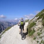 Fahrradfahren - kräftigt die Beinmuskulatur