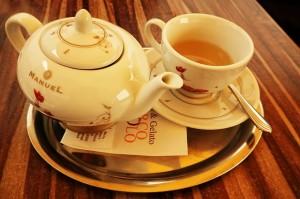 Ungesüßter Tee!