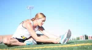 Schon ein leichtes Fitnesstraining kann Abhilfe leisten!